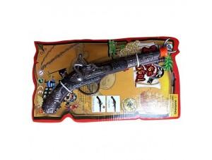 Αποκριάτικο όπλο πειρατή μεταλλικό