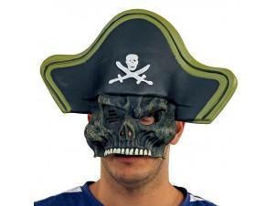 Αποκριάτικη μάσκα Πειρατή μισή