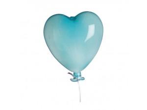 Γυάλινο διακοσμητικό Mπαλόνι καρδιά