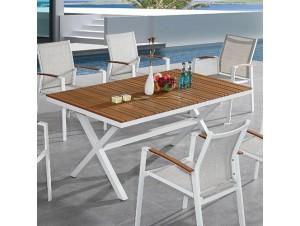 SUNNYSIDE Τραπέζι αλουμινίου - polywood