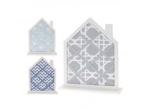 Πίνακας για σημειώσεις σε σχήμα σπιτιού 3 σχέδια