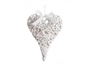 Διακοσμητικό στοιχείο πλεκτό καρδιά