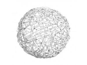 ΔιακοΔιακοσμητική πλεκτή ξύλινη μπάλα 50cmσμητικό