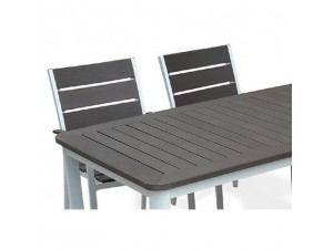 SUNDAYΤραπέζι αλουμινίου-polywood