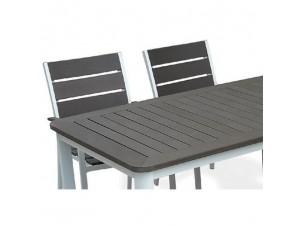 SUNDAY Τραπέζι αλουμινίου-polywood
