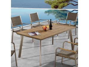 Brookdale Τραπέζι αλουμινίου- polywood