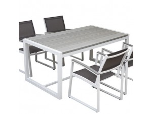 DUBLIN Τραπέζι αλουμινίου- polywood