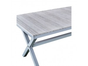 PRANZO Τραπέζι Αλουμινίου - Polywood