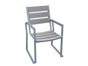 VIENNA Πολυθρόνα Αλουμινίου-Polywood