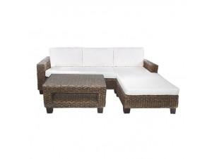 ROCKY II Γωνιακός καναπές από Υδρουάκινθο