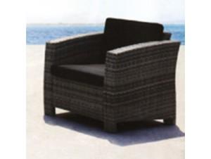 Πολυθρόνα αλουμινίου Wicker LIVERPOOL