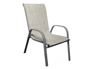 Πολυθρόνα μεταλλική THEROS-