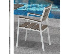 MINSK Πολυθρόνα Αλουμινίου-Polywood