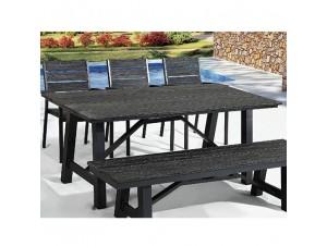 SALEM Τραπέζι αλουμινίου-polywood