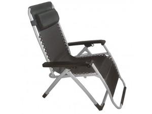 Πολυθρόνα - ξαπλώστρα μεταλλική με ανάκλιση