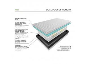 DUAL POCKET MEMORY 131-140 Eco sleep