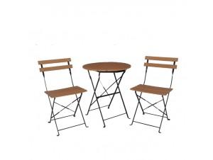 Set Τραπεζάκι καρέκλες Ζαππείου Capo