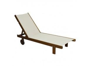 CASABLANCA Επαγγελματική Ξαπλώστρα ξύλινη