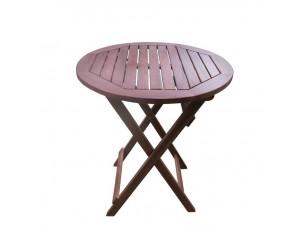 Τραπέζι Ροτόντα Πτυσσόμενη Φ 70 cm