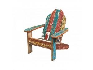 Πολυθρόνα χειροποίητη από μασίφ suar