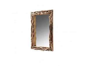 Καθρέπτης σε ξυλινο κορμό
