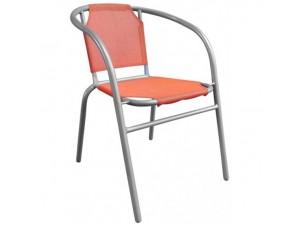 Πολυθρόνα αλουμινίου Πορτοκαλί