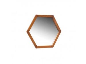 Καθρέφτης με πλάισιο από ξύλα
