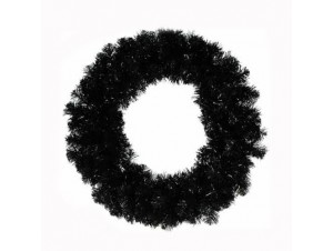Στεφάνι μαύρο-