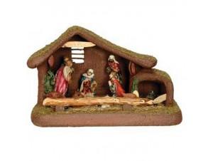 Χριστουγεννιάτικη Φάτνη Συνθετική Πράσινη