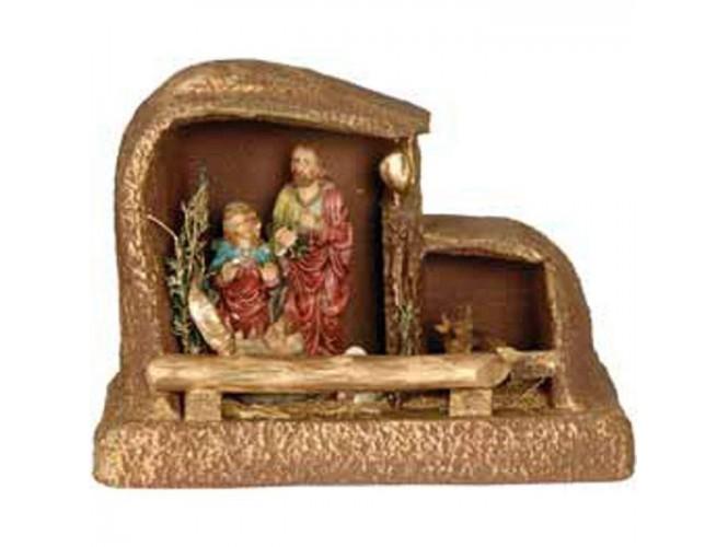 Χριστουγεννιάτικη Φάτνη Συνθετική Χρυσό