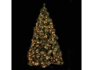 Χριστουγεννιάτικο Δέντρο χιονέ με λαμπάκια 2,70