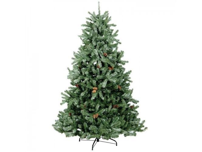 Χριστουγεννιάτικο Δέντρο Ασύμμετρο Χιονέ 1,80