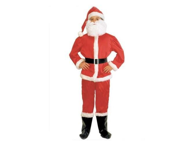 Παιδική στολή Άγιος Βασίλης(Βελουτέ)