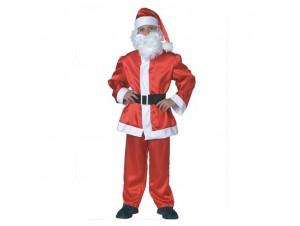 Παιδική στολή Άγιος Βασίλης Σατέν