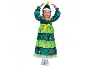Παιδική στολή Χριστουγεννιάτικο δένδρο για κορίτσια 4446