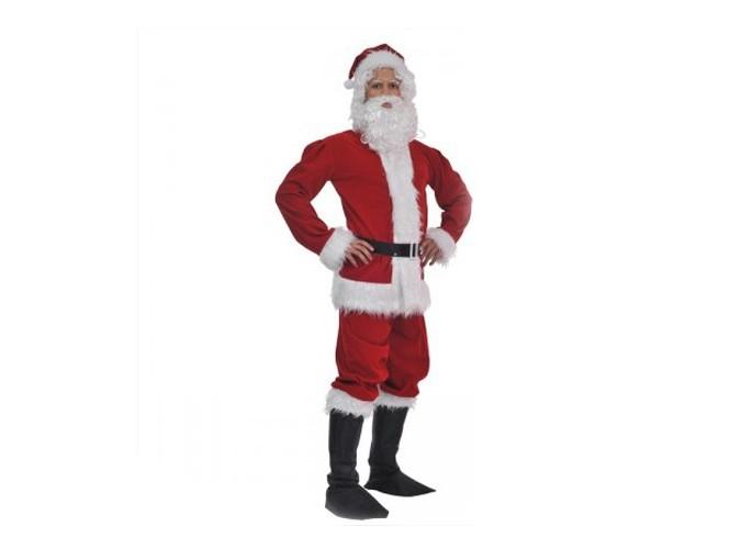 Παιδική στολή Άγιος Βασίλης ΒΕΛΟΥΔΟ