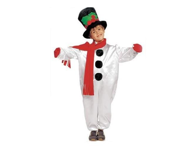 Παιδική στολή Χιονάνθρωπος