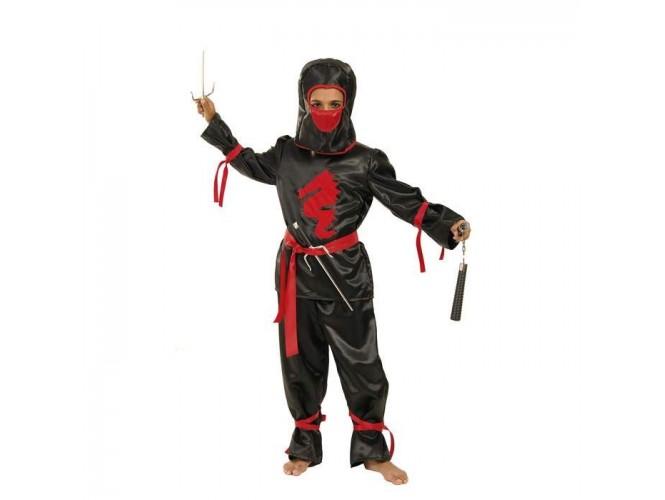 Αποκριάτικη στολή Αγόρι Νίντζα Μαύρος Δράκος