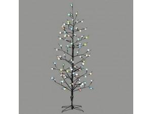 Χριστουγεννιάτικο Δέντρο με LED μπάλες 0,80 μέτρα