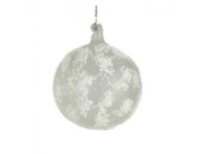 Παγωμένη γυάλινη μπάλα με χιόνι 9527