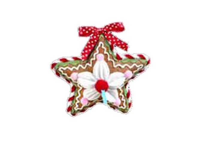Χριστουγεννιάτικο στολίδι αστέρι μπισκότο