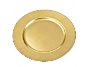 Πιατέλα Χρυσή για Διακόσμηση