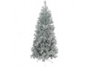 Ασημί χριστουγεννιάτικο Δέντρο SLIM 210 εκατ.