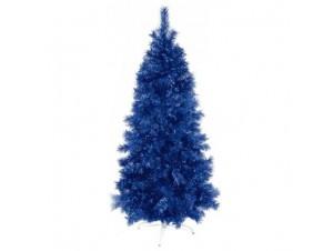 Μπλε χριστουγεννιάτικο Δέντρο SLIM 210 εκατ.