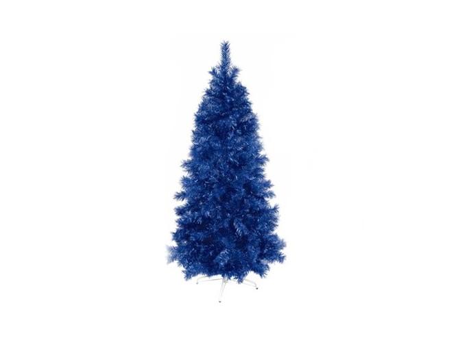 Μπλε χριστουγεννιάτικο Δέντρο SLIM 180 εκατ.