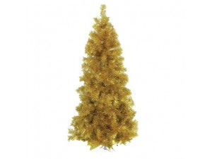 Χρυσό Χριστουγεννιάτικο Δέντρο SLIM 210 εκατ.
