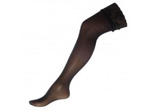 Αποκριάτικη Μαύρη Κάλτσα σιλικόνη 10343
