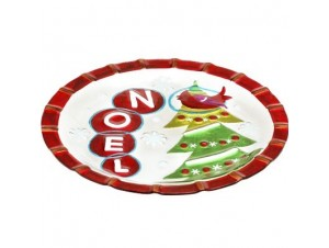 Χριστουγεννιάτικη Πιατέλα για Διακόσμηση