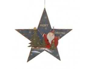 Χριστουγεννιάτικο διακοσμητικό ξύλινο