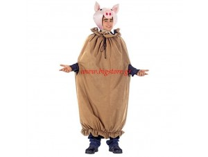 Αποκριάτικη στολή Γουρούνι στο σακί